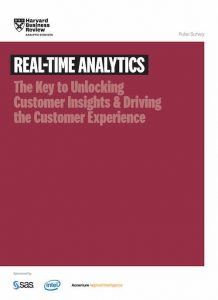 Real-Time Analytics. The Key to Unlocking Customer Insights & Driving the Customer Experience
