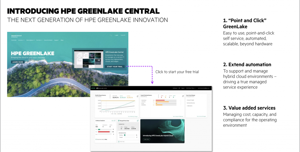 HPE GreenLake Central: New Leadership Guides A Hybrid IT Future