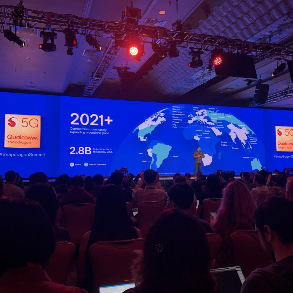 Snapdragon Summit: Qualcomm Exhibits Explosion of 5G