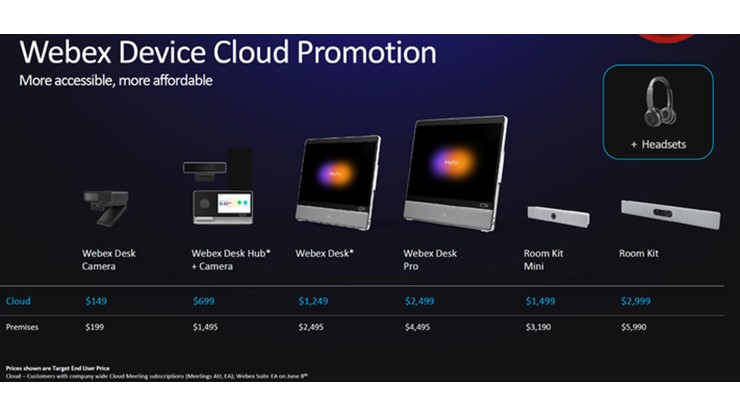 Cisco Webex Suite Rebrand and Product Pricing Focus is Timely, Strategic, and Necessary